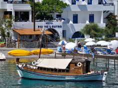 Porto Loutro ... in two distinct buildings the hotel is the modest princess of one of the most special places in Crete, Loutro. http://www.cretetravel.com/hotel/porto-loutro/  #Porto #Loutro #Hotel #special #best #hospitable #hospitality #swimming #hiking #painting #writing #www.cretetravel.com