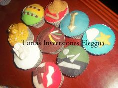 cupcakes de santos eleggua, oshun, obatala, oggun, yemaya, oshosi, oya, shango, orula. para santeros y babalawos