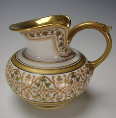 Sevres Porcelain China Creamer Jug 1858
