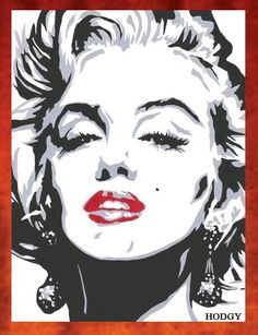 Marilyn Monroe Painting -69.00 by ~Hodgy-Uk on deviantART  | This image first pinned to Marilyn Monroe Art board, here: http://pinterest.com/fairbanksgrafix/marilyn-monroe-art/ || #Art #MarilynMonroe