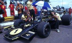 1974 GP Brazylii (Interlagos) Lotus 72E - Ford (Ronnie Peterson)