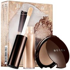 The BECCA Glow On The Go Set...perfect gift or stocking stuffer!