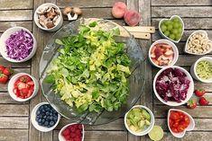 Antioxidants: Eat the Colors of the Rainbow! Diabetic Recipes, Healthy Recipes, Healthy Foods, Healthy Habits, Healthy Tips, Healthy Skin, Easy Recipes, Salad Recipes, Salade Healthy
