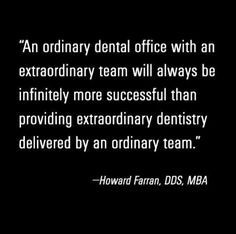 It's all about the team! Well, not ALL about the team, but ... UGH you know what we mean! #Inspiration #BeExtraordinary
