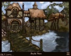 Seyda Neen,  Vvardenfell,  Morrowind,  Tamriel.