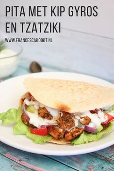 Tzatziki, Feta, Comfort Food, Cooking Tips, Sandwiches, Dessert Recipes, Lunch, Baking, Ethnic Recipes