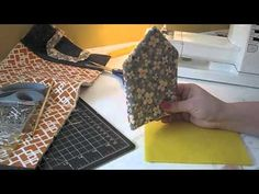 Tutorial on how to make fabric dollhouse.
