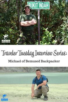 Interview with travel blogger Michael of Bemused Backpacker. This expert #backpacker talks about his travel start, inspirations, and what he takes on a trip. Bonus: he's a great resource if you ever need medical assistance! #interview #travelblog