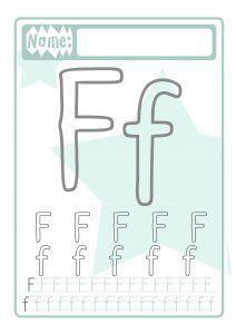 Buchstaben Druckvorlage für Kinder - Familinchen Kindergarten Portfolio, Alphabet, Tracing Letters, Crafts For Kids, Lettering, Education, School Kids, Lollipops, Montessori