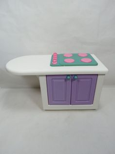 VERY RARE Little Tikes My Size Doll House Furniture Stove Great Gift! B50 3.4 #LittleTikes  #RareLittleTikes #LittleTikes #Dollhouse #Barbie #Dollhousefurniture