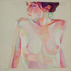 Mesmerizing and Colorful Geometric Illustrations – Fubiz Media