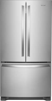 Whirlpool WRF535SWHZ - 36 Inch French Door Refrigerator from Whirlpool
