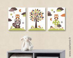 Illustration enfant bébé affiche bébé poster garçon décoration ...