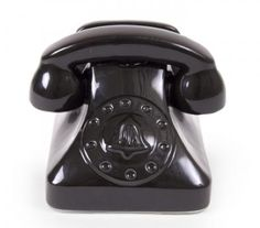 Jonathan Adler phone dock, now in black. Love! And works with any smart phone.