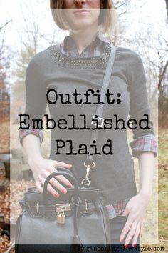 Engineering In Style: Outfit Embellished Plaid