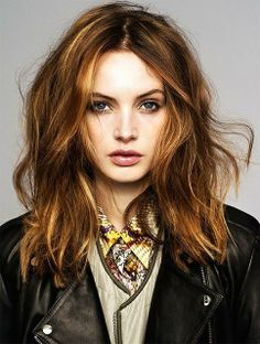 Hair - cut, texture and color