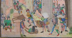 « Chroniques sire JEHAN FROISSART » Date d'édition :  1401-1500  Français 2644 Folio 135r