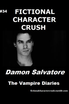 The Vampire Diaries Damon Salvatore, yuusshhhh! I have a huge fictional character crush on him as I do on many other fictional characters. Serie Vampire Diaries, Vampire Diaries The Originals, Vampire Dairies, Mystic Falls, Damon Salvatore, Ian Somerhalder, Delena, True Stories, Horror Stories