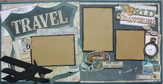 Good morning! Well, summer is here and so is the time to go on vacation. I have been busy making travel layouts lately. They are so much...