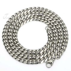 HOT Simple Curb Mens Necklace