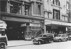 The opening to the Piccadilly Arcade with the Theatre Royal on the right Birmingham City Centre, Moving To Australia, Cinema Theatre, Birmingham England, 90s Nostalgia, Yesterday And Today, Theatres, Back In The Day, Historical Photos