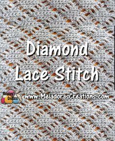 Meladoras Creations | Crochet Stitches Archive