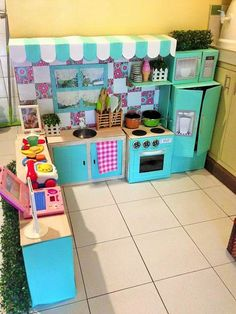 cucina giocattolo 3 | giochi per bambini | pinterest | fai da te - Giochi Per Bambini Cucina