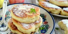 Have you ever tried pancakes made with apples? So then you must prepare racuchy, a traditional Polish apple pancakes! Tortilla Recipe, Polish Recipes, Polish Food, Apple Pie, Breakfast Recipes, Pancakes, Easy Meals, Food And Drink, Cooking Recipes