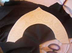 How to make a Kokoshnik style headress.. a progress tutorial on ...