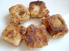 Vegan Mochica tofu nuggets