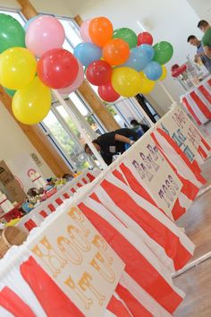 """Photo 7 of 23: Carnival/Circus / Birthday """"CJ's 1st Birthday Party"""" 