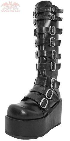 Batgirl Buckle Boots