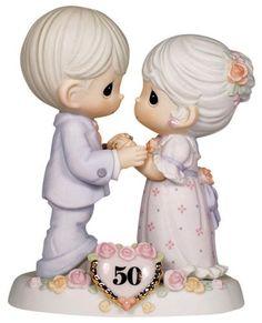 "Precious Moments ""We Share A Love Forever Young"" Figurine - http://www.preciousmomentsfigurines.org/anniversary/precious-moments-we-share-a-love-forever-young-figurine-2/"