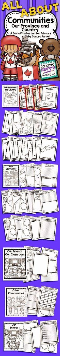 Social Studies Unit for Grade 2 - My Community