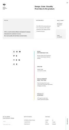 CHI Development Center- UI/UX | Abduzeedo