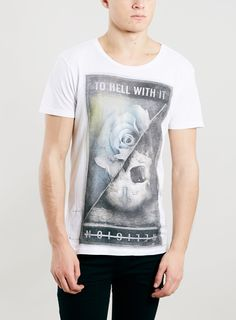 Religion White T-Shirt* - View all Brands - Brands - TOPMAN EUROPE