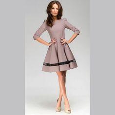 39,90EUR Kleid langarm puderfarben