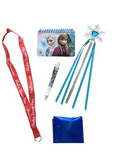 Disney Frozen Vacation Park Pack Gift Set with autograph book * Click image to review more details-affiliate link.