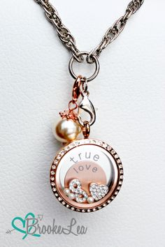 Tell the World your Love Story with a South Hill Locket. Shop at www.brookelea.ca