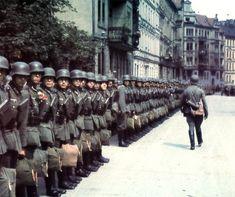 Soldados alemanes de 1941.