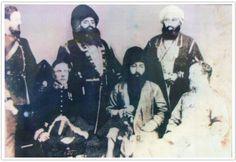 original picture of maharaja ranjit singh and hari singh nalwa.