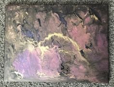 "$45 Acrylic Pour canvas- 11""x14"" -""Dragons Breath"" from my Etsy shop https://www.etsy.com/listing/508031335/acrylic-pour-12x14-canvas-dragons-breath"