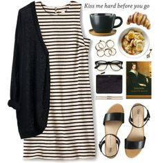 Breakfast (Fossil Bridgette Side Gusset Knit Dress $118)