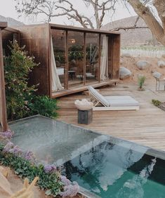 [New] The 10 Best Home Decor (with Pictures) - This modern design with a little bit of nature . Casa 8 Bruma Hotel designed by Baja California by via Exterior Design, Interior And Exterior, Outdoor Spaces, Outdoor Living, Architecture Design, Casas Containers, Backyard, Patio, My Dream Home