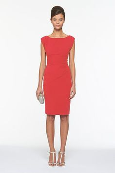 Jori Dress. Love this DVF dress. Even though I dislike orange-red colored clothing, this looks awesome on me and anyone who wears it. Plus it's simple and can be worn on many occasions -Bre