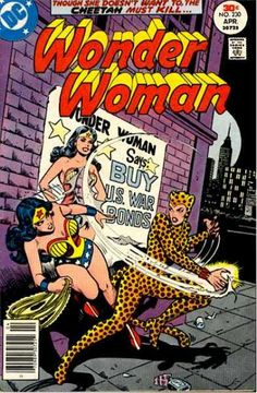 Buy Us War Bonds - Wonder Woman - Cat Woman - Ny City - Lasso