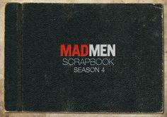 Mad Men Season 4 Scrapbook