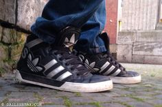 day 328: Adidas Hardcourt Hi Big Logo #adidas #adidashardcourt #hardcourt #sneakers - DAILYSNEAX