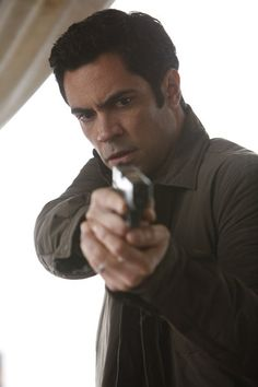 Danny Pino, a.k.a. Det. Nick Amaro. He's an awesome cop! He has great gut instincts, is gentle with the victims, though he can get impatient and too hard on the perps like Elliot (: And he does a phenomonal job dealing with all SVU has to deal with all day, being that he's always been a narcotics cop. I really like him!