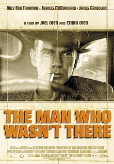 The man who wasn't there L'uomo che non c'era #crimine - #drammatico